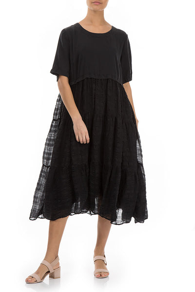 Lightweight Black Silk Dress