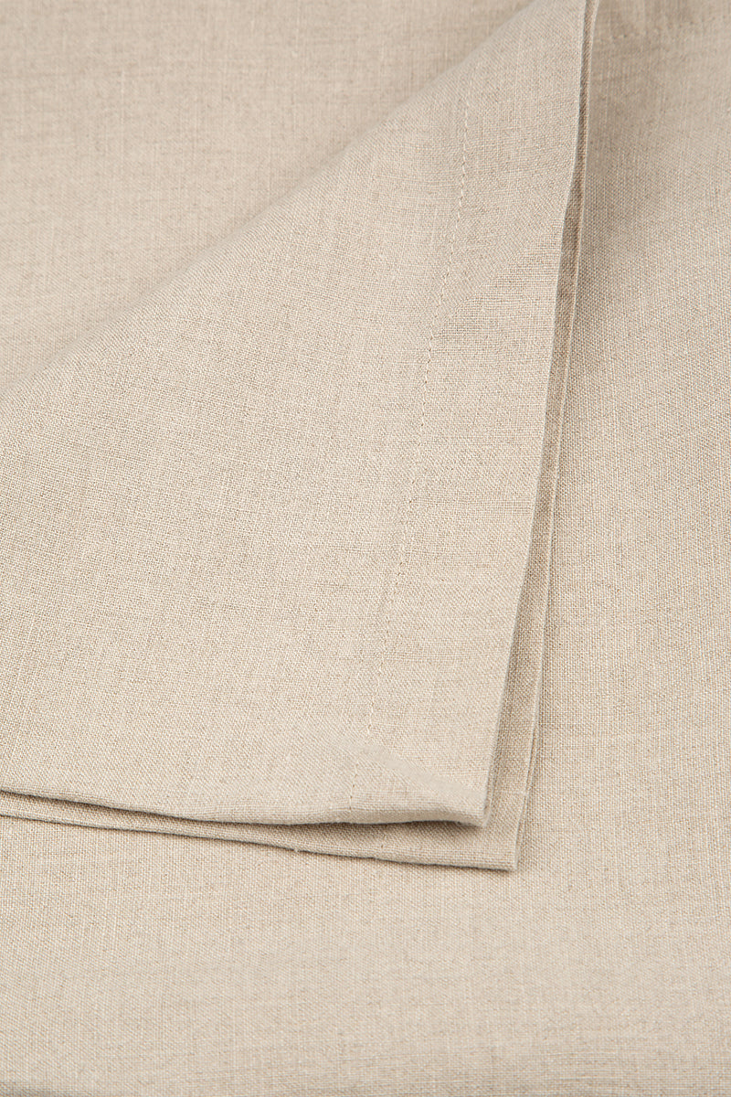 Natural Soft Linen Tablecloth