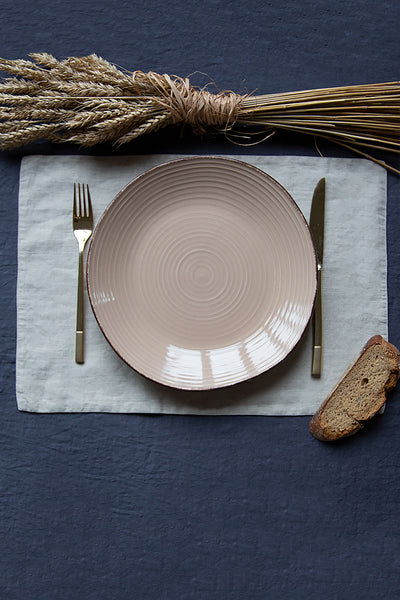 Natural Linen Table Placemats