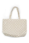 Natural Dotty Linen Bag