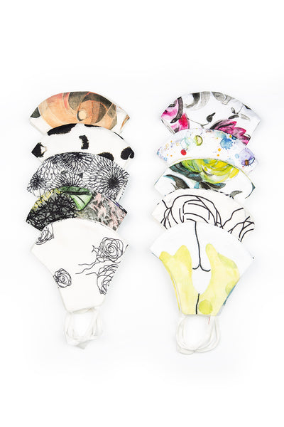 Pack Of Printed Reusable Face Masks €5.95 x 20 PCS