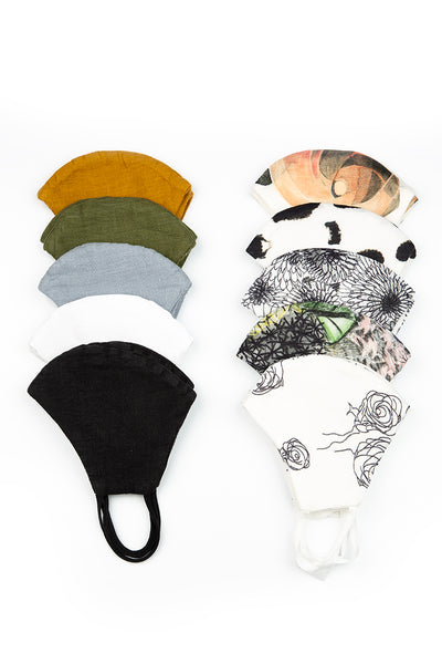 Pack Of Reusable Face Masks - Earth €5.95 x 20 PCS