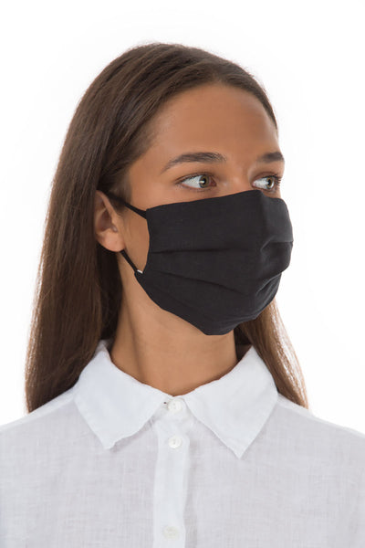 Pleated Reusable Black Face Masks €9.99 x 10 PCS