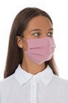 Set Of Pleated Reusable Dusty Pink Face Masks & Cases €14.99 x 5 Sets