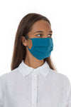 Pleated Reusable Turquoise Face Masks €6.99 x 10 PCS