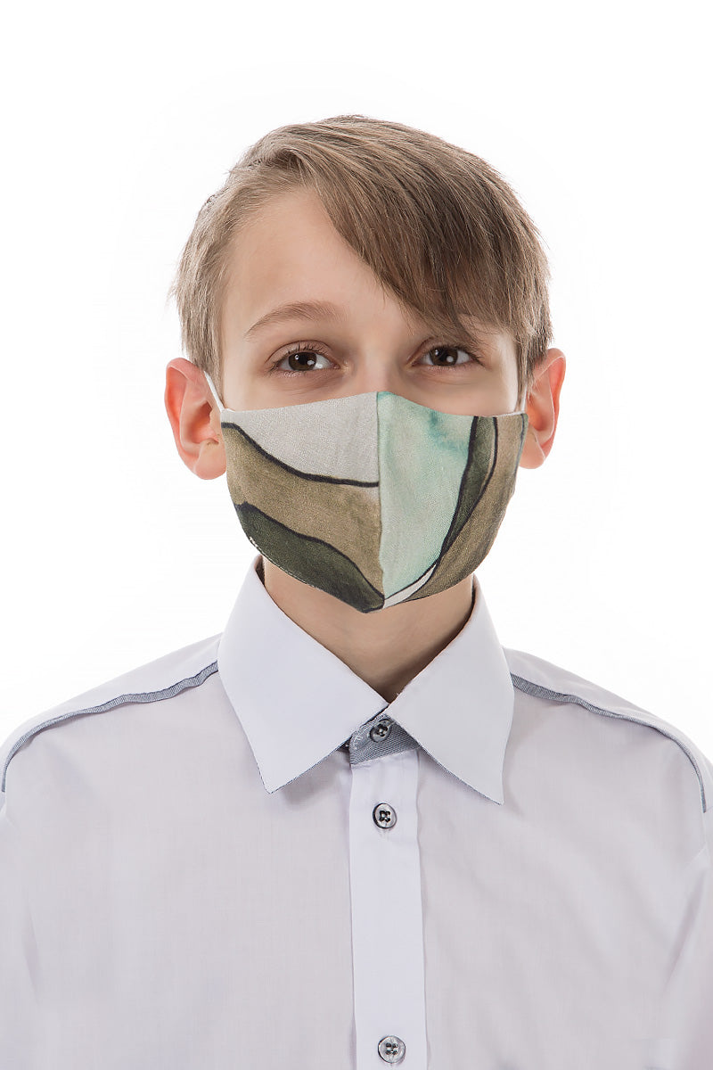 Reusable Abstract Print Protective Masks For Children €4.95 x 20 PCS