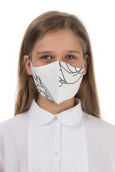 Reusable Abstract Rose Print Protective Masks For Children €4,95 x 20 PCS - GRIZAS | Natural Contemporary Womenswear
