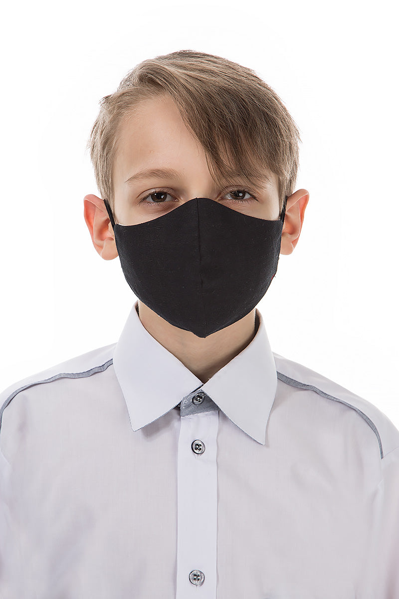 Reusable Black Protective Masks For Children €4.95 x 20 PCS