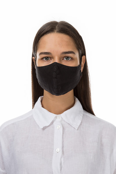Reusable Black Protective Masks €4,95 x 20 PCS - GRIZAS | Natural Contemporary Womenswear