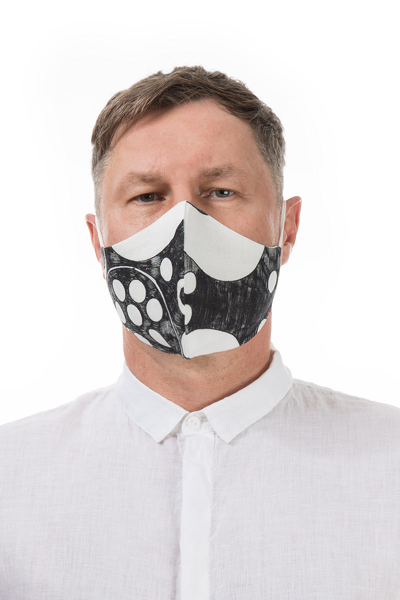 Reusable Bubbles Print Protective Masks €4.95 x 20 PCS