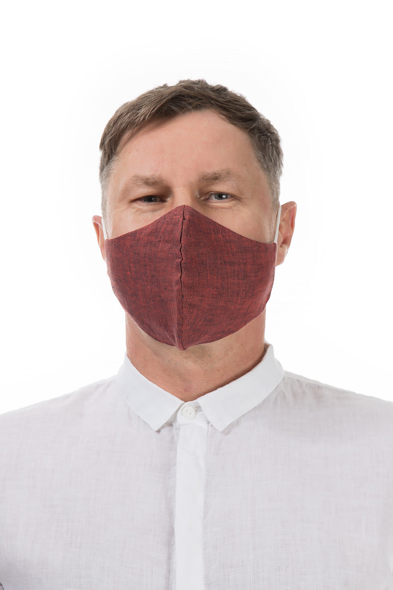 Reusable Burgundy Protective Masks