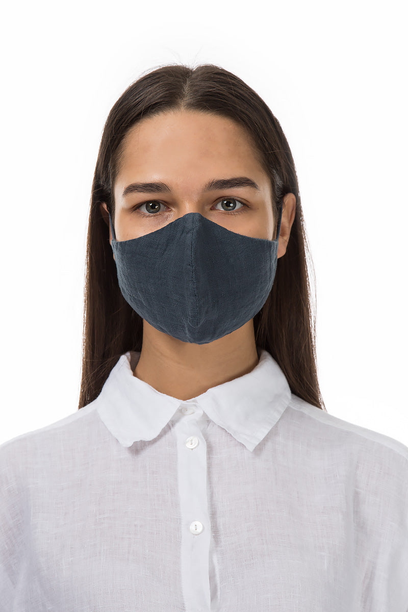 Reusable Charcoal Protective Masks €4,95 x 20 PCS - GRIZAS | Natural Contemporary Womenswear