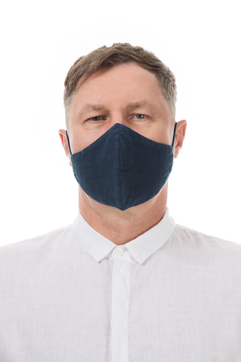 Reusable Dark Blue Protective Masks €4.95 x 20 PCS
