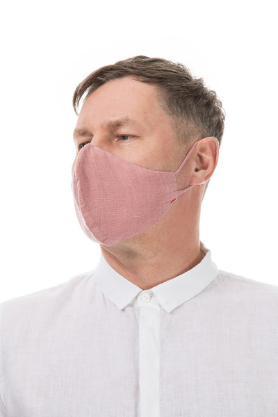 Reusable Dust Pink Face Masks
