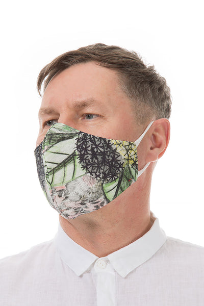 Reusable Flowers Print Face Masks