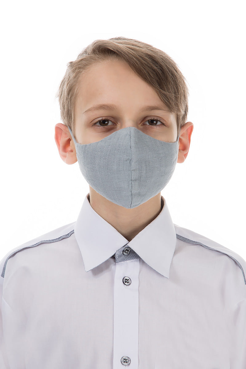 Reusable Grey Protective Masks For Children €4.95 x 20 PCS