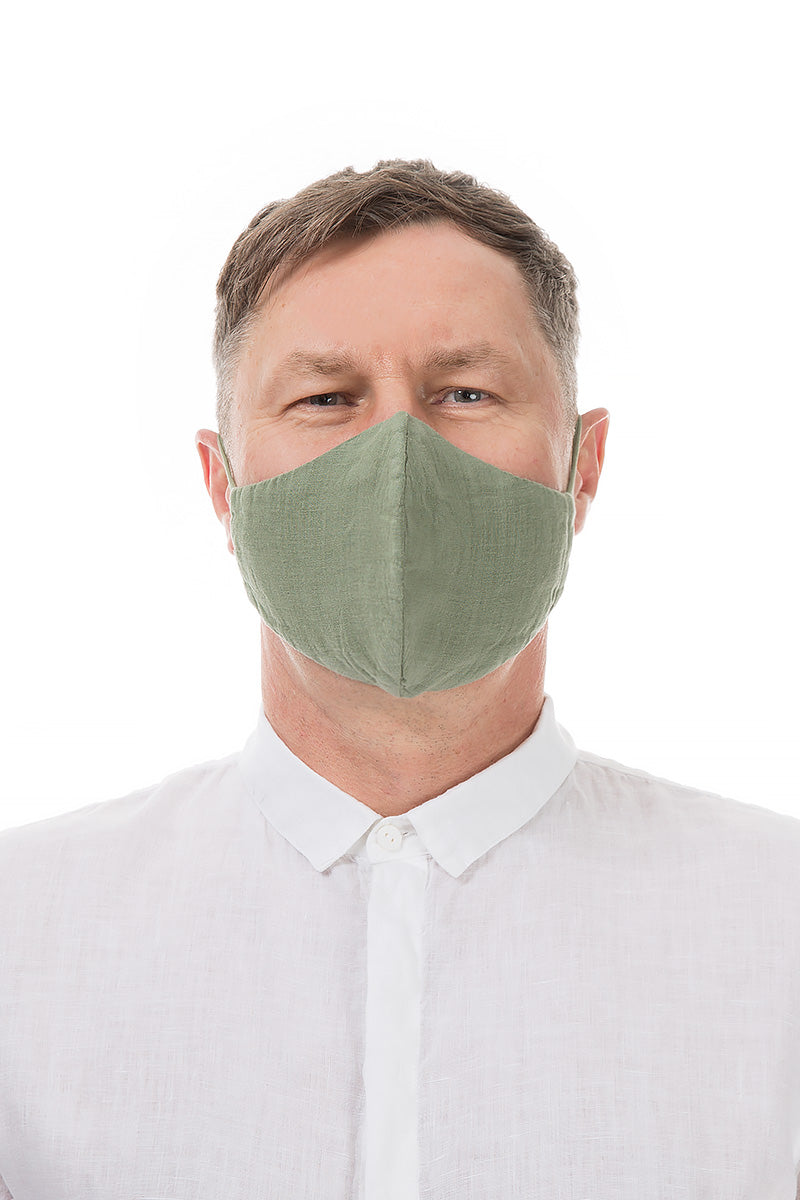 Reusable Khaki Protective Masks €4.95 x 20 PCS
