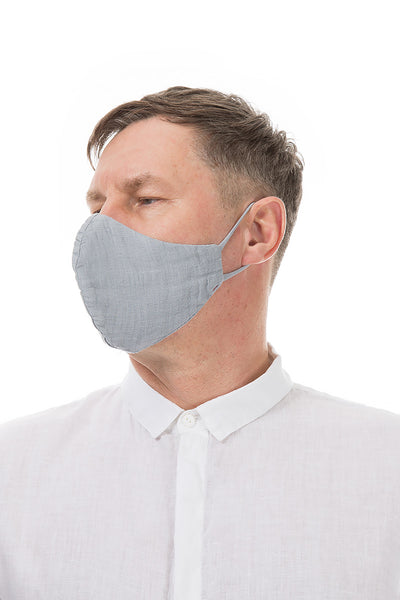 Reusable Light Grey Face Masks