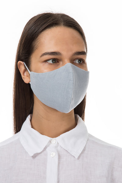 Reusable Light Grey Protective Masks €4,95 x 20 PCS - GRIZAS | Natural Contemporary Womenswear