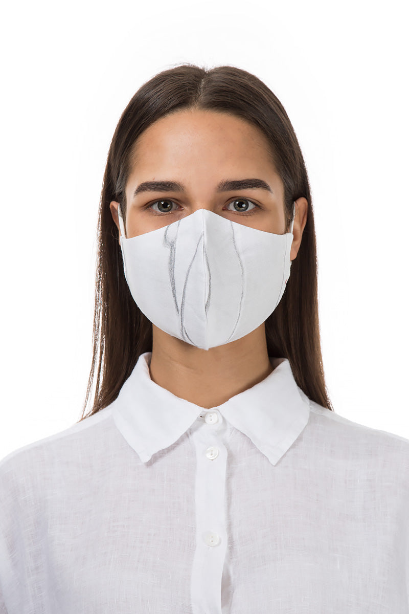 Reusable Lined Print Protective Masks €4,95 x 20 PCS - GRIZAS | Natural Contemporary Womenswear