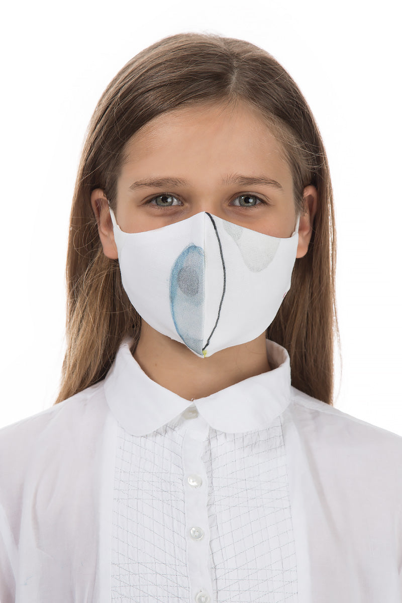 Reusable Minimalist Print Protective Masks For Children €4,95 x 20 PCS - GRIZAS | Natural Contemporary Womenswear