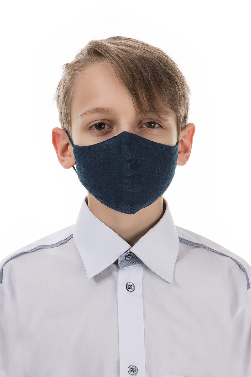 Reusable Navy Protective Masks For Children €4.95 x 20 PCS
