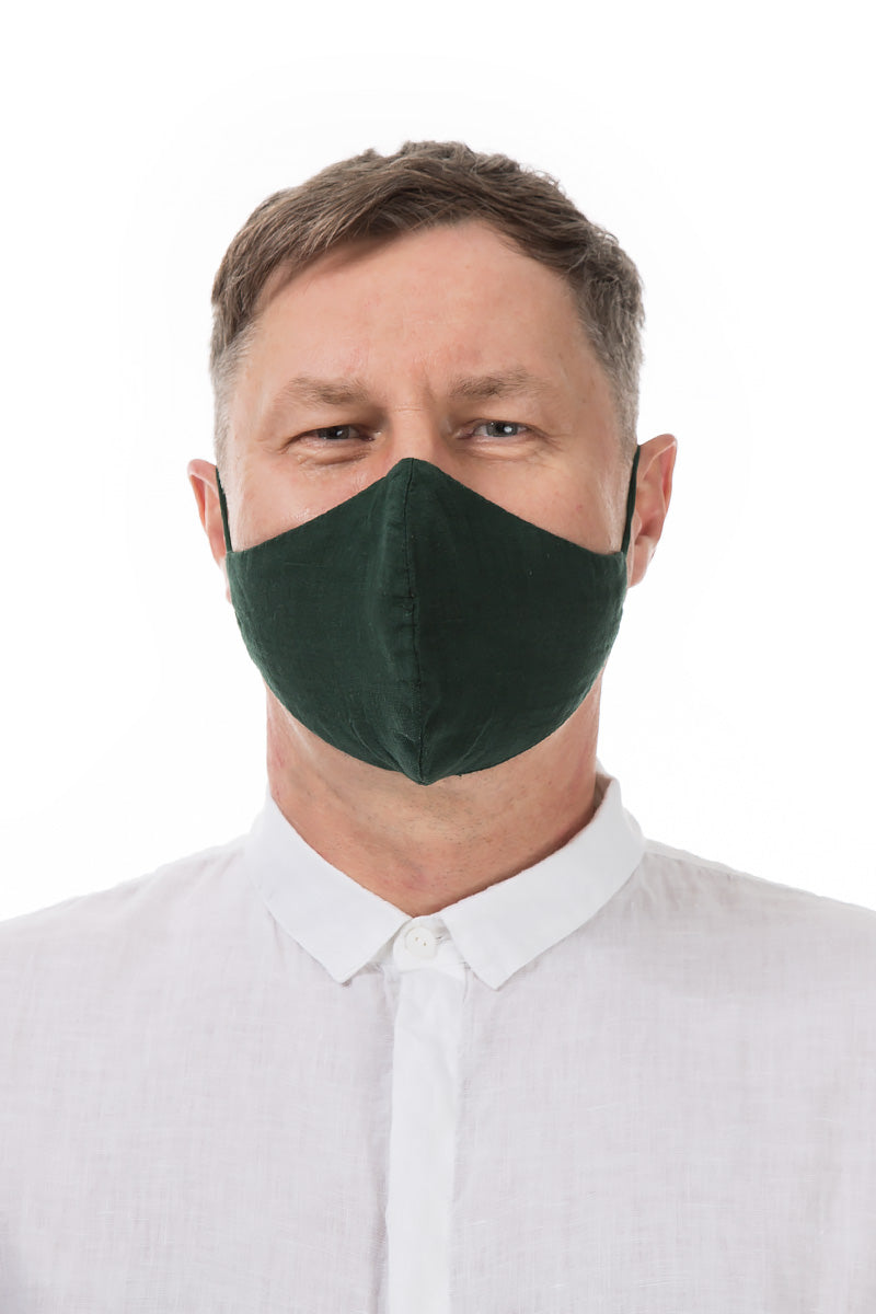Reusable Pine Green Protective Masks €4.95 x 20 PCS