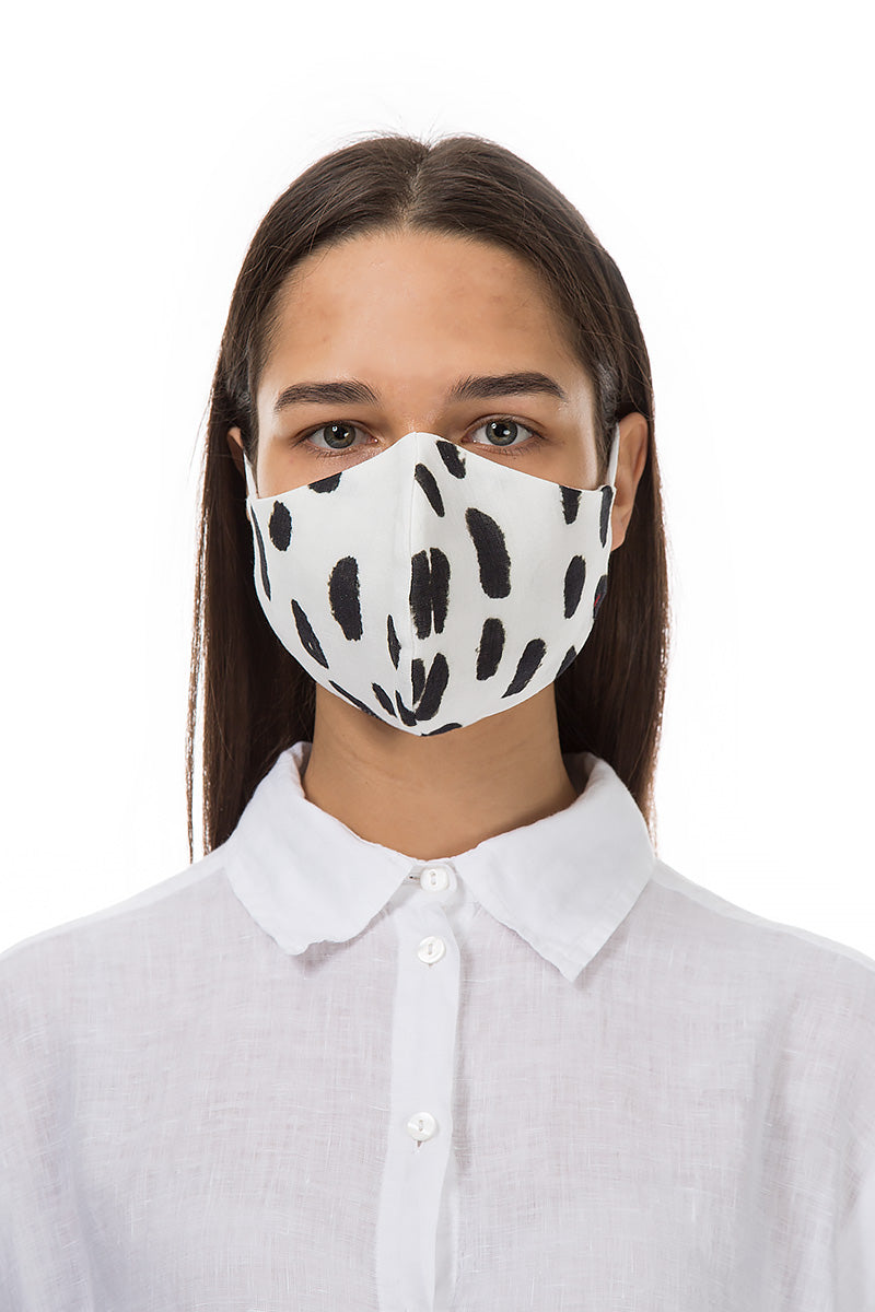 Reusable Drops Print Protective Masks €4,95 x 20 PCS - GRIZAS | Natural Contemporary Womenswear