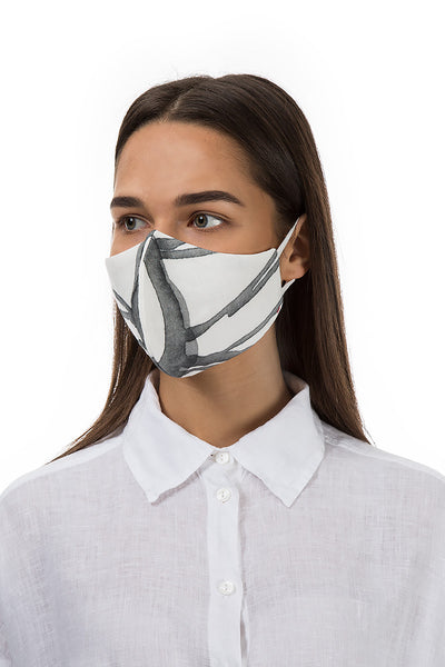 Reusable Shadow Print Protective Masks €4,95 x 20 PCS - GRIZAS | Natural Contemporary Womenswear