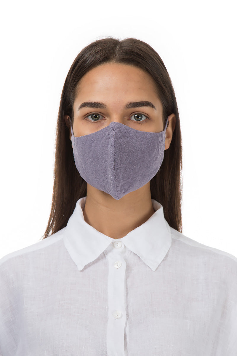 Reusable Violet Tulip Protective Masks €4,95 x 20 PCS - GRIZAS | Natural Contemporary Womenswear