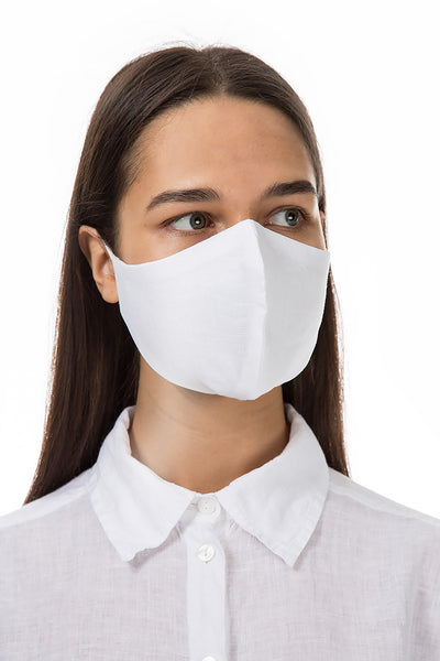 Reusable White Protective Masks €4,95 x 20 PCS - GRIZAS | Natural Contemporary Womenswear