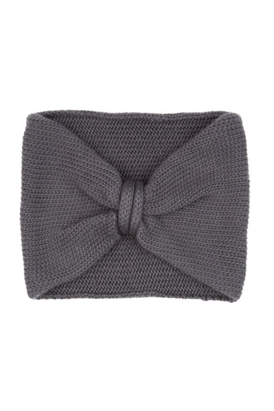 Soft Grey Cashmere Headband