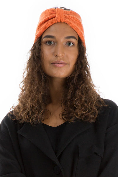 Soft Orange Cashmere Headband