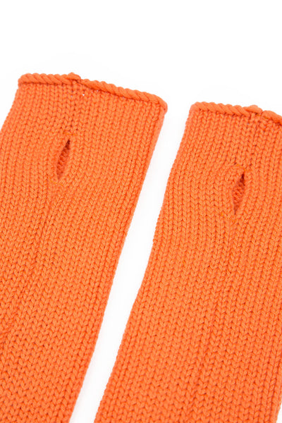 Soft Orange Cashmere Wrists