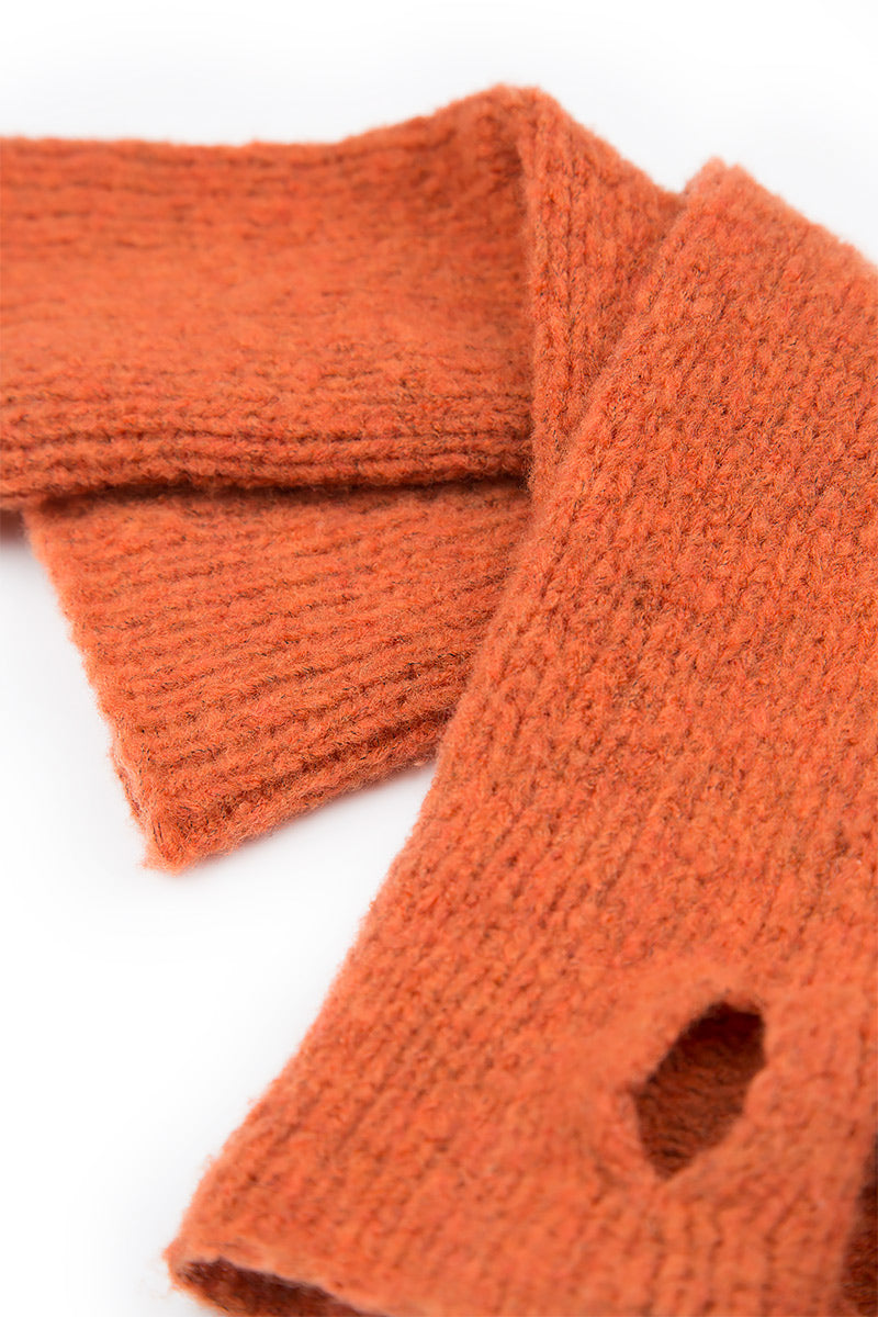 Soft Saffron Wool Wrists