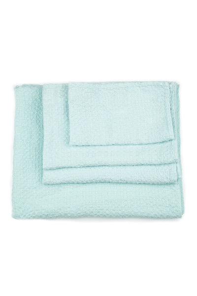 Textured Light Breeze Linen Towel