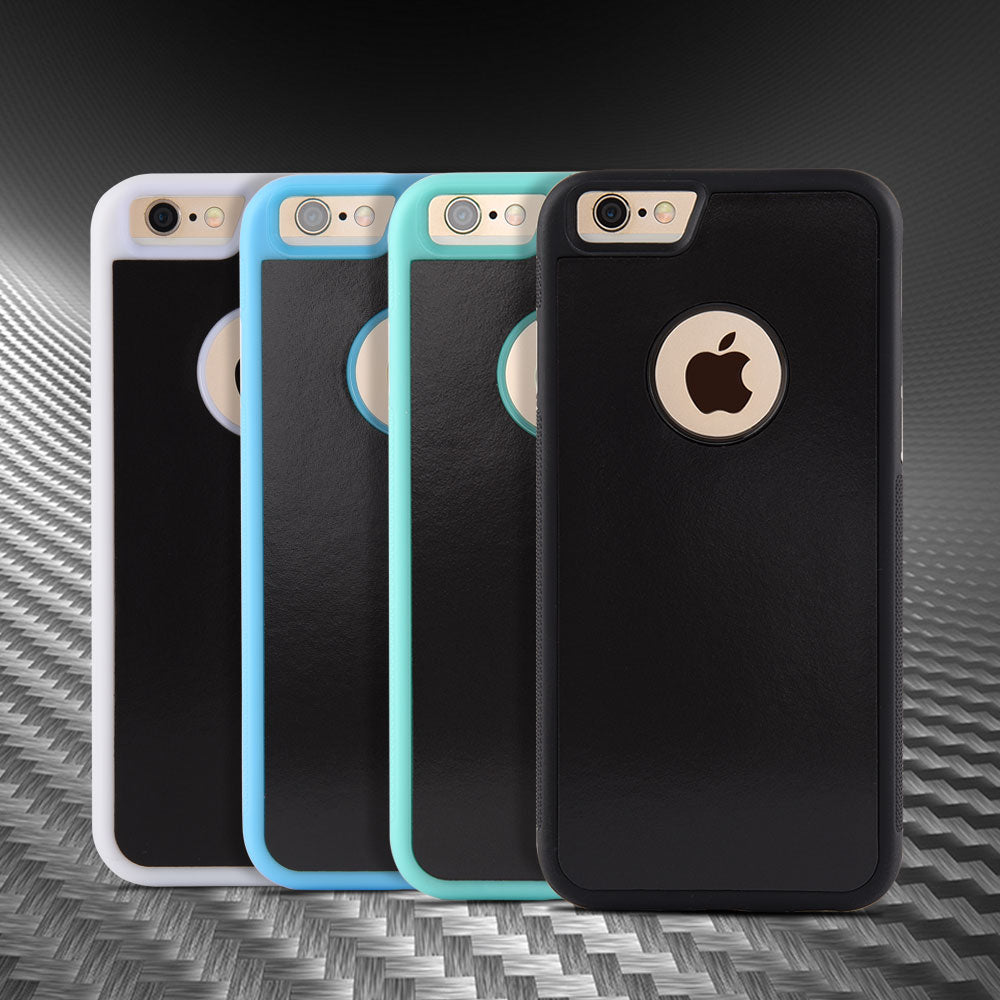 official photos f2aae be047 Anti Gravity Mobile Phone Case for iPhone 6, 6 Plus, 6s, 6s Plus, 7, 7  Plus, 8, 8 Plus, iPhone X Hands Free Nano Suction Material