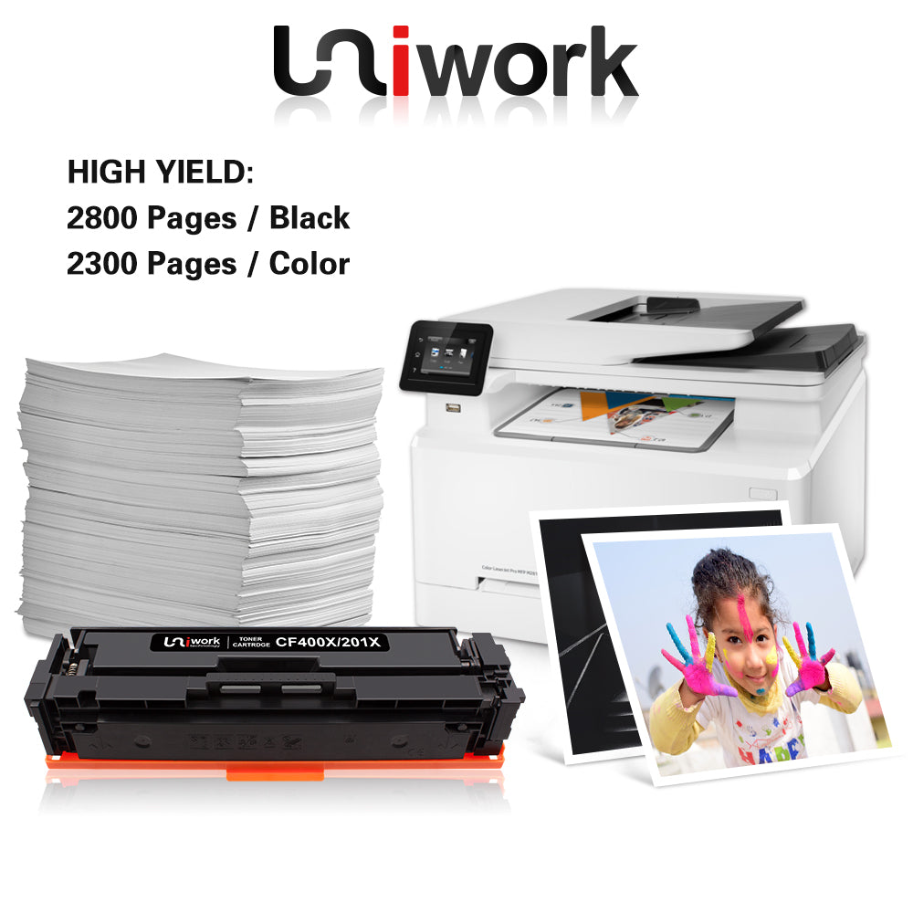 Uniwork 201X Compatible Toner Cartridge Replacement for HP