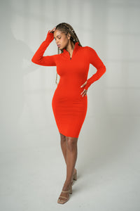 The Tati Dress - Phosphorus