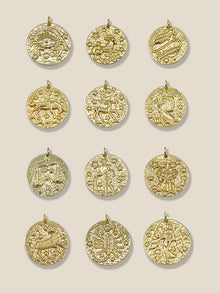 Load image into Gallery viewer, The Zodiac Necklace - Leo