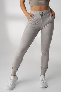 The Women's Select Jogger - Heather Ash