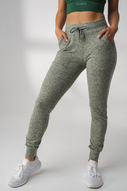 The Women's Select Jogger - Heather Moss