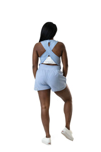 Balance Athletica Bottoms The Breeze Short - Sky