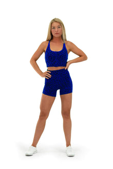 Load image into Gallery viewer, Balance Athletica Bottoms The Lux Short - Panther Water