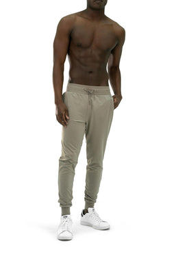 Balance Athletica Bottoms The Men's Select Jogger - Driftwood