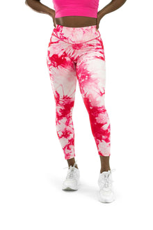 Load image into Gallery viewer, Balance Athletica Bottoms The OG Pant - Tie Dye Hibiscus