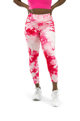 Balance Athletica Bottoms The OG Pant - Tie Dye Hibiscus