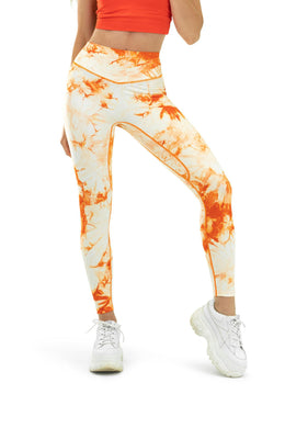 Balance Athletica Bottoms The OG Pant - Tie Dye Mango