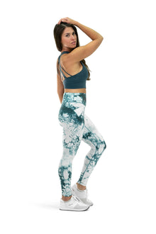 Load image into Gallery viewer, Balance Athletica Bottoms The OG Pant - Tie Dye Marine