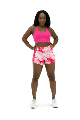 Balance Athletica Bottoms The OG Short - Tie Dye Hibiscus